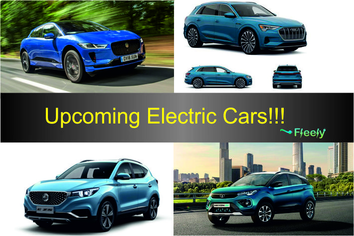 Upcoming Electric Cars in India.
