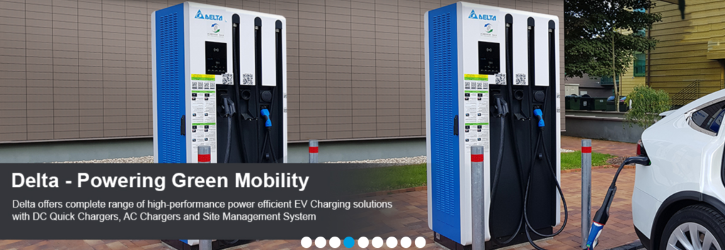 Electric Vehicle charging station providers in India